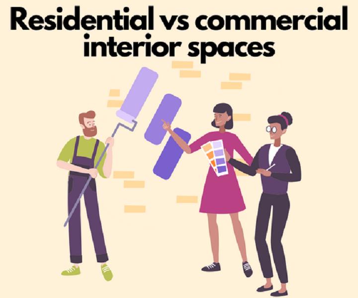 Comparing Residential Versus Commercial Interior Design